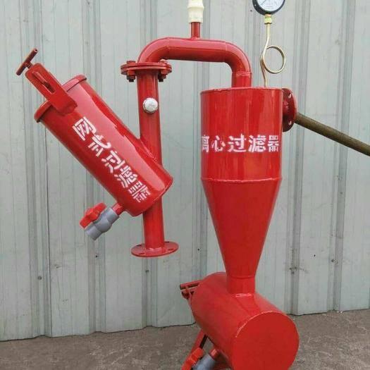 济南莱芜区离心过滤器 农用灌溉离心十网式过滤器十