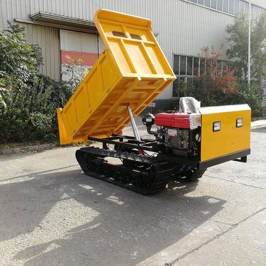 濟寧履帶式拖拉機 3噸履帶運輸車_特殊路面爬坡能手