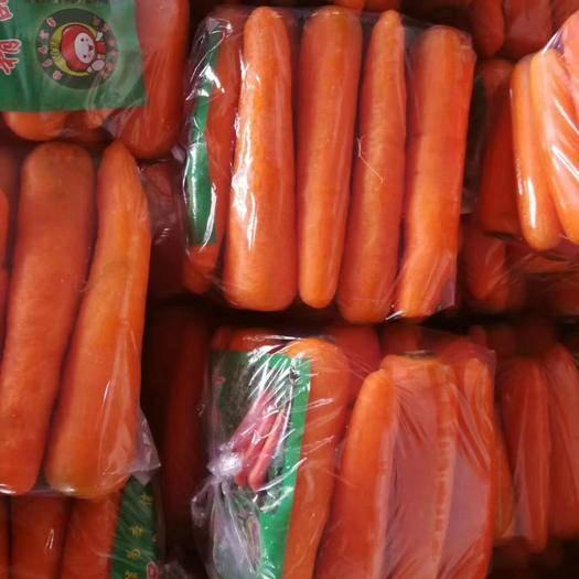 开封通许县 超市专供沙地胡萝卜可提供5斤至40斤水洗袋装和箱装