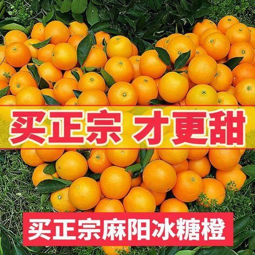 怀化麻阳苗族自治县 【坏果包赔】湖南麻阳冰糖橙小甜橙新鲜水果橙子鲜甜可口包邮