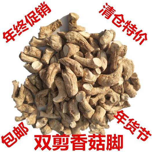 商洛商南县 双剪香菇脚,1.2-2.0cm,人工逐个剪脚筛选,干净卫生