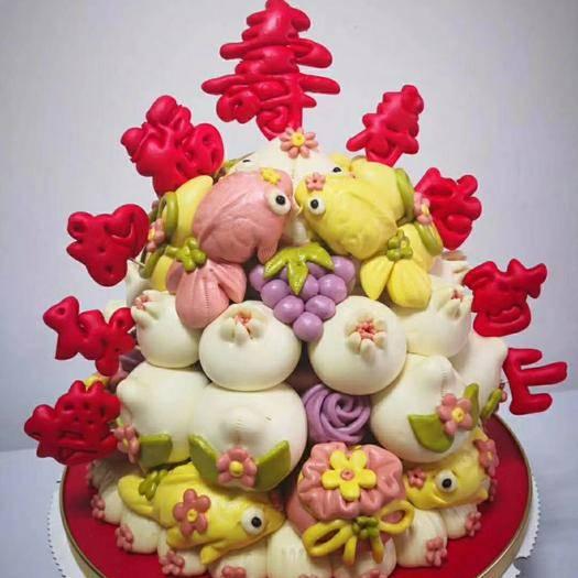 隰县乳饼 面制花馍,可食可观赏,各种款式,支持定制。