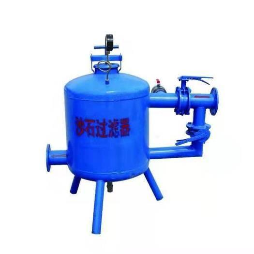 菏泽牡丹区砂石过滤器 手动单沙石过滤器 罐体600mm,水量50m