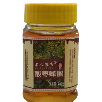 农家自产酸枣蜂蜜无添加玻璃瓶装460g/瓶破损包赔包邮