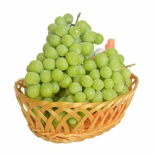 元阳县 现货 晴王 香印无籽葡萄 阳光玫瑰青提 新鲜水果6斤装 新
