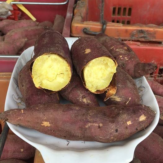 澄迈澄迈县 海南板栗薯 桥头富硒地瓜批发 一件代发 日式香薯产地直销