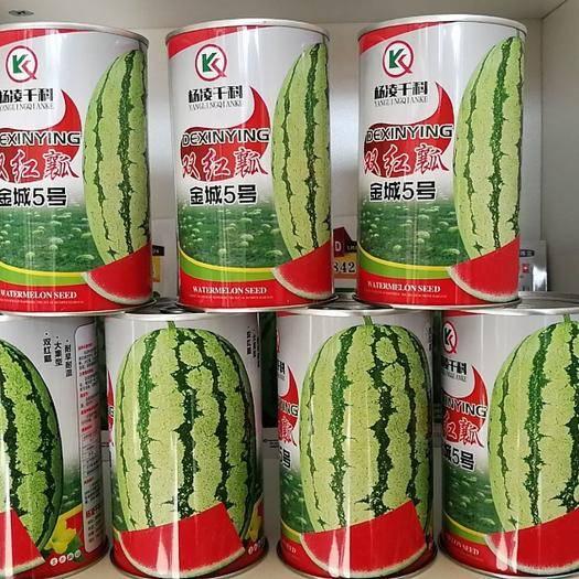 咸阳杨陵区硒砂瓜西瓜种子 双红瓤金城5号早熟,双红瓤糖度14.高品质,高效益,火爆品种