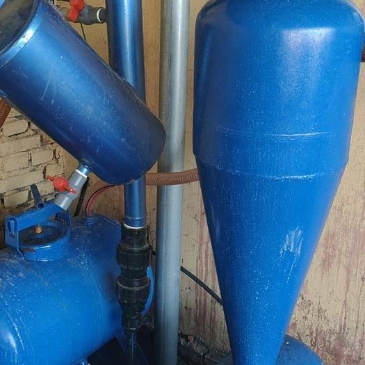 菏泽牡丹区离心过滤器 63mm 离心网式施肥组合套装泥沙漂浮物过滤