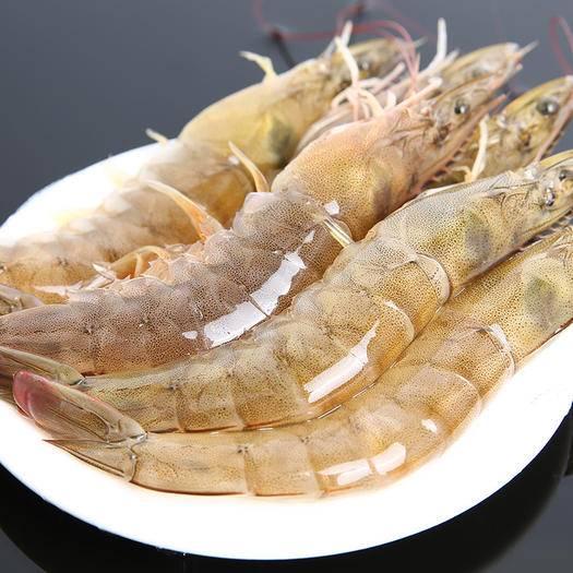 响水县 【冷链包邮】新鲜海捕大虾 厄瓜多尔非青岛新鲜*白虾冷冻对虾