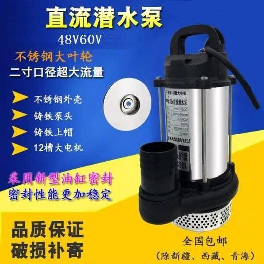 原阳县 48V—96V大流量农用抽水灌溉直流水泵