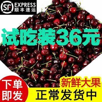 车厘子智利进口新鲜大樱桃新鲜水果过年礼盒顺丰包邮