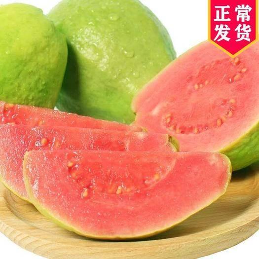 南宁武鸣区 【坏果包赔】红心芭乐番石榴批发当季新鲜水果(3斤/5斤/9斤