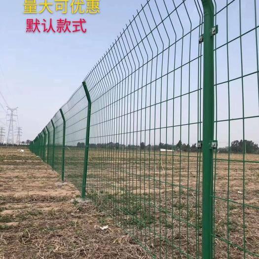 安平县护栏网/围网 高速公路防护网 圈山圈地养殖网整套1.8米高*3米 鱼塘用网