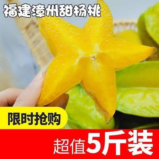 漳州漳浦縣 楊桃新鮮特價水果一箱甜楊桃水果五角星應季水果新鮮批發