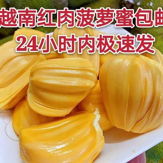 凭祥市 2020年越南红肉菠萝蜜顺丰包邮,一件代发,基地直发