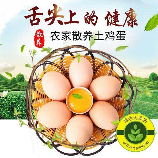 安阳县 农村新鲜散养土鸡蛋正宗林下柴鸡笨鸡草鸡蛋非洋鸡蛋20/30