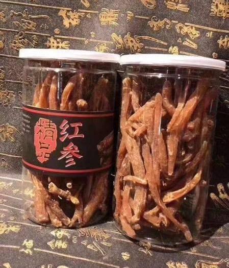 抚松县 【聚优惠】长白山即食小红参 参丁腿 开袋即食红参人参红参棒