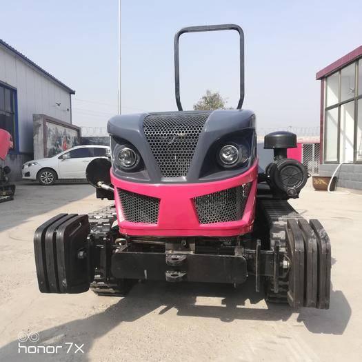 濟寧履帶式拖拉機 農用多功能田園管理拖拉機 多功能履帶耕地機耕田機 履帶拖拉機