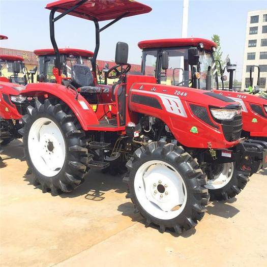 新泰市輪式拖拉機 供應中國泰山各種顏色大馬力四驅四輪省油拖拉機
