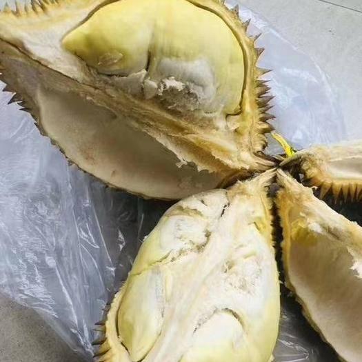 崇左凭祥市 泰国金枕巴掌榴莲 3-4斤 果大核小 八成熟发货 又香又甜