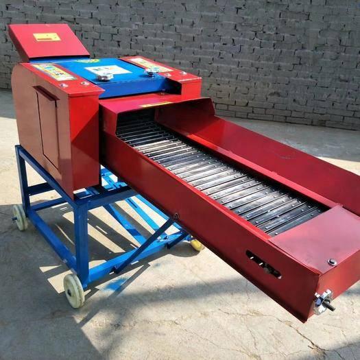 德州宁津县 畜牧养殖设备:家用两相电铡揉粉碎一体机,干湿两用铡揉一体机
