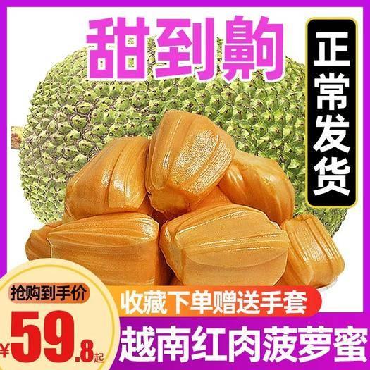 崇左憑祥市 越南紅肉菠蘿蜜【品質優選】 一件代發 微商電商  快速出單