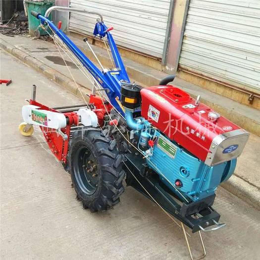 曲阜市 現貨熱賣小型農用手扶拖拉機 多功能 手扶耕地犁地機質量保證