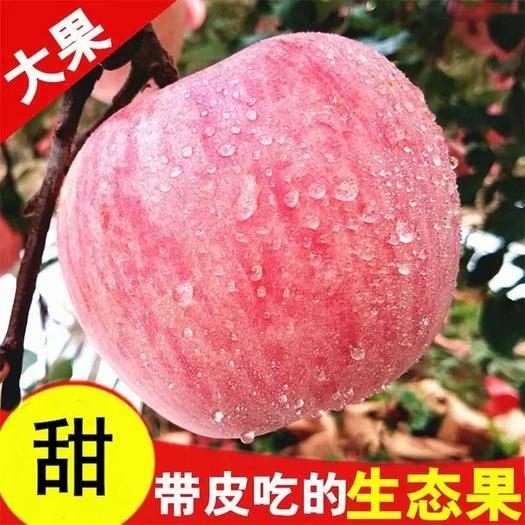萬榮縣 升級版 脆甜冰糖心紅富士丑蘋果 帶箱9.5-10斤
