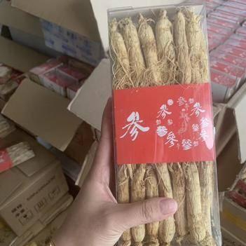园参  人参生晒 切片 泡水 煲汤 炖鸡 正宗东北长白山特产白参