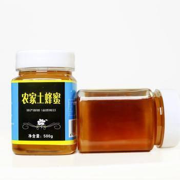 农家士蜂蜜乡里纯蜂蜜农家自产蜂蜜批发500克9.6元包邮