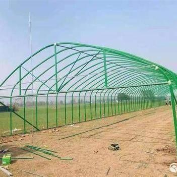 热镀锌管 蔬菜大棚 钢管骨架 官方推荐 种植大棚 养殖大棚 配件齐全