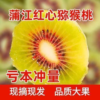 【破损包赔】2020新四川红心猕猴桃奇异果现摘新鲜水果弥猴