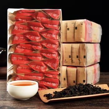 大红袍武夷山岩茶茶叶散装乌龙茶500克礼盒装小袋装