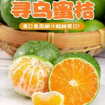 寻乌蜜桔产地现摘直销青桔蜜橘橘子新鲜可带叶批发