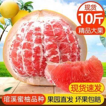 红心柚  2020福建管溪蜜柚子新鲜水果当季平和红肉整箱应季带箱