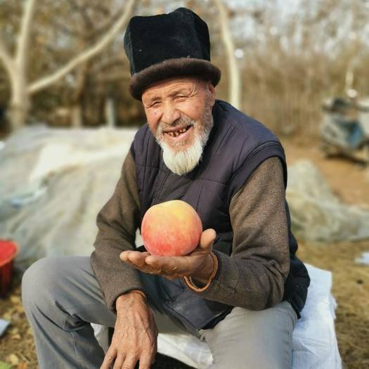 新疆阿克苏冰糖心苹果红旗坡农场出品树梢优质光果