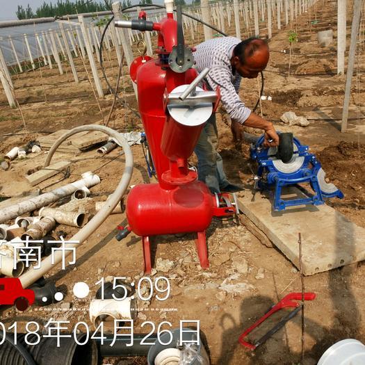 济南莱芜区离心过滤器 过滤水中比水密度大的杂质专用,如细小沙子等,保护滴灌喷灌系统