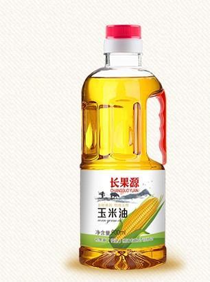 內黃縣 長果源900毫升食用玉米油精煉一級廠家直發大企業品質無需質疑