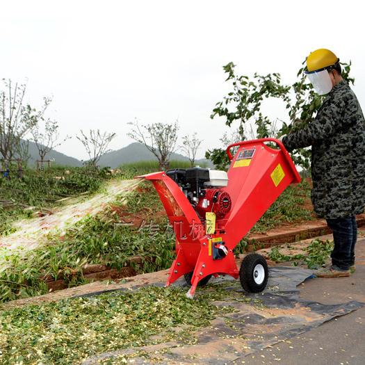 金华义乌市 树枝粉碎机 枝条切碎机秸秆切片机碎草机葡萄藤粉碎机