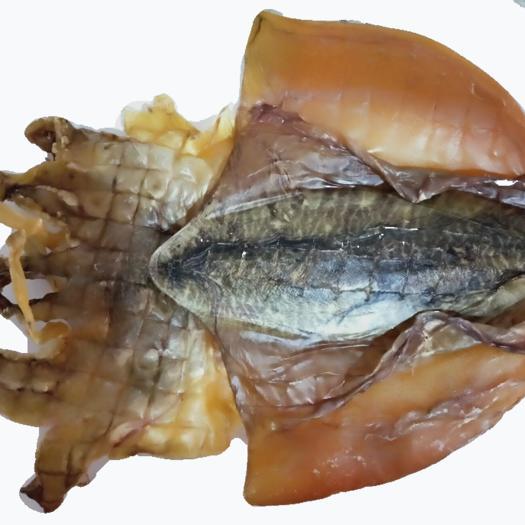 石狮市 渔家自产淡晒海产 大墨鱼干 乌贼一只约480克