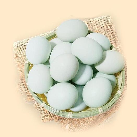 泰州泰興市 40枚農家散養綠殼土雞蛋新鮮烏雞蛋
