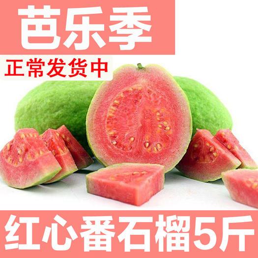 南寧 送酸梅粉廣西紅心芭樂番石榴2/5/10斤裝整箱當季新鮮水果