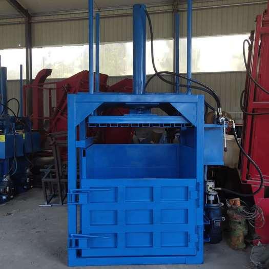 曲阜市 立式廢紙 液壓打包機 單杠雙杠液壓打包機 廢品廢料打包機