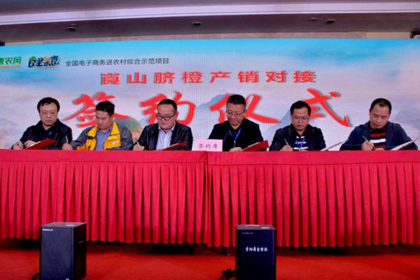"""新宁电商发展再升级:区域公用品牌""""崀里果崀""""正式发布"""