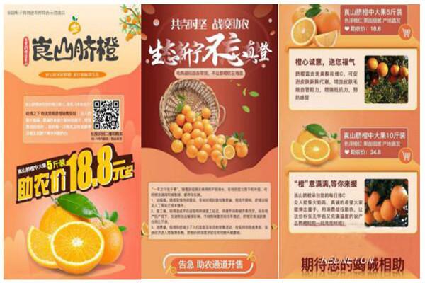 惠农网联合腾讯微视扶贫助农:一条短视频,卖出扶贫脐橙71150斤!