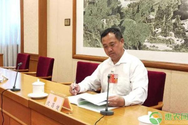 2020两会:全国人大代表沈昌健提出规范农村土地流转助农增收