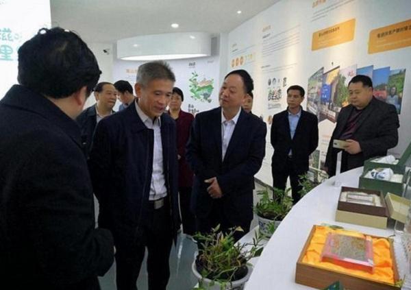 刘晓春一行赴新宁考察电商扶贫成果 惠农网助力县域电商发展