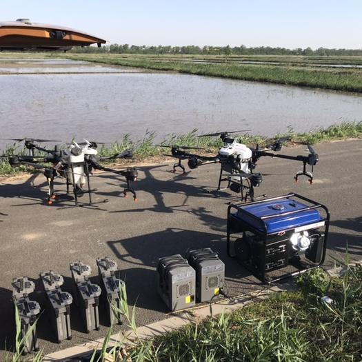 天津市东丽区无人机农药喷洒 天津及周边地区农业值保无人机打药,全系采用大疆T16新款飞机