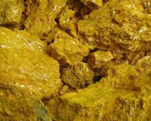 安國市 雌黃,一級貨,品質保證