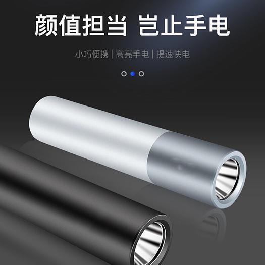 广州其它农资  强光充电宝手电筒